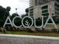 Acqua & Azure Manila site visit with indonesia agent