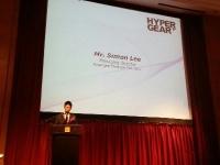 Attending grand opening Hyper Gear Equipment at Bukit Jalil Golf Resort