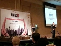 Attending MAREC 2014 at SIME Darby Convention Centre