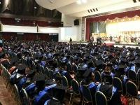 Attending Second AEU Asia E-University Executive Program graduation ceremony