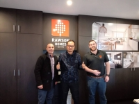 Meeting with Rawson Homes Newcastle, New South Wales Housing Development in Australia on 10th July 2018
