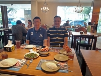 Meet up with Mr Winarto Kurnia, Property agent from Jakarta on 13th October 2018