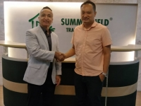 Managing Director from Nyran Property Group (Perth, Aus) visit Summerfield Office on 10th October 2018