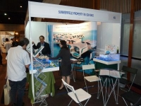 Our Promotion Booth at The Exibition Hall