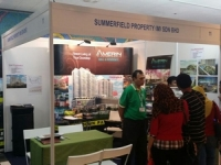 Promoting Amerin Service Apartment at BumiPutra Property Fair 2015