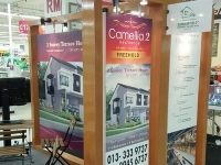 Promoting Camellia Residence 2 at Aeon Mohkota Cheras