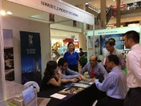 Promoting DC Residency in SHEDA Home & Property Roadshow, Miri