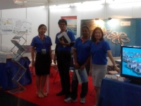 Promoting Hibiscus at Prime and Premium Property Showcase PWTC