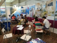 Promoting Hibiscus in Penang International Property Expo