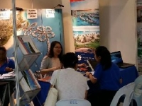 Promoting Hibiscus in SHEDA Home & Property Roadshow, Miri