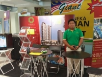 Promoting Twinz Residence Service Apartment at Giant Hypermarket Kelana Jaya